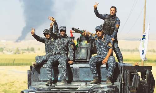 Iraqi forces take Sinjar from Kurds