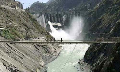Neelum-Jhelum hydel project's reservoir being filled with water