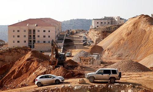 Israel advances plans for 1,300 West Bank settler homes