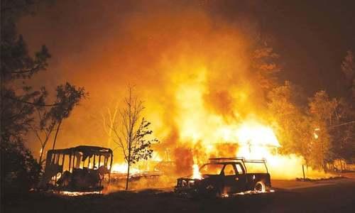 Wildfire toll hits 41 in Spain, Portugal; rain brings respite