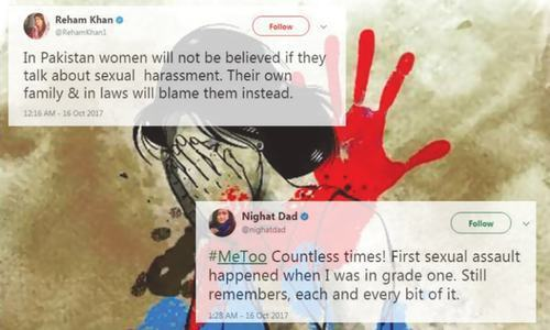 Pakistani women use #metoo hashtag to expose scale of sexual abuse