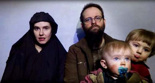 Recovered American hostage Caitlan Coleman rushed to hospital, says husband