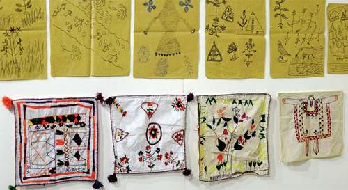 Using crafts to heal the scars of conflict