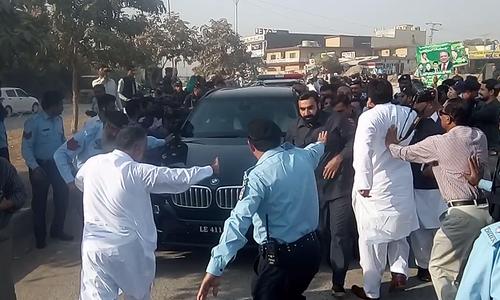 Maryam Nawaz arrives at accountability court, may be indicted today