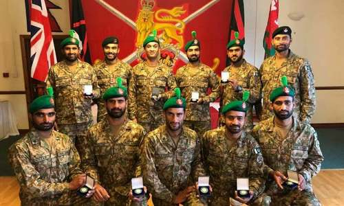 Pak Army team strikes gold in Exercise Cambrian Patrol competition