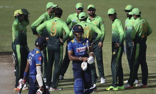 Fourth ODI: Pakistan cruise to comfortable 7-wicket win over Sri Lanka