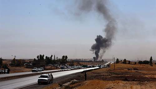 Kurdish forces clashes with Iraqi military after Kirkuk surrender