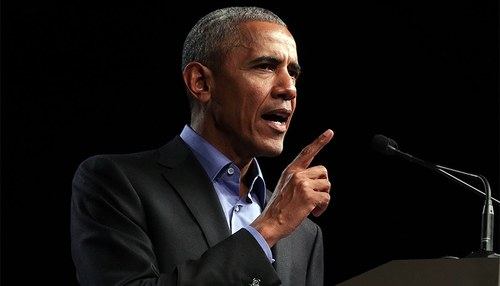Obama criticises 'politics of division', says it takes US '50 years back'