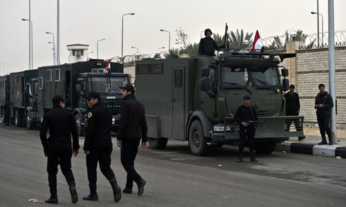 54 Egyptian police killed in ambush