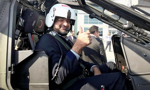 Shahid Khaqan Abbasi, the first Pakistani PM to fly military helicopter