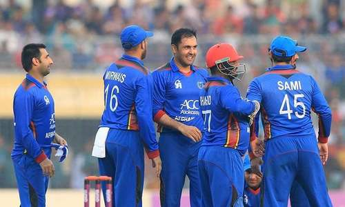 Afghanistan to play Ireland, Zimbabwe in Sharjah