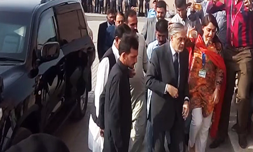 Dar appears before accountability court as trial resumes in graft reference