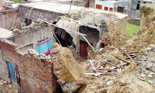7 dead as roof of home collapses in Bajaur