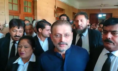 Sharjeel Memon's bail rejected in corruption case
