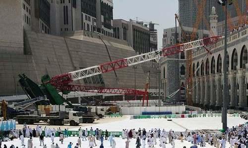 No blood money for Makkah crane crash victims, rules Saudi court
