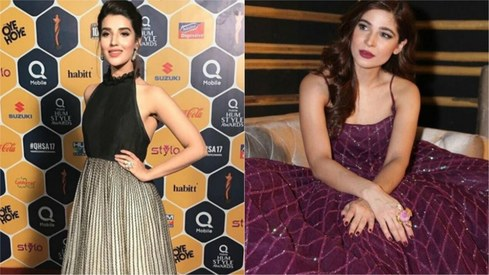 Who conquered the red carpet at the Hum Style Awards 2017?