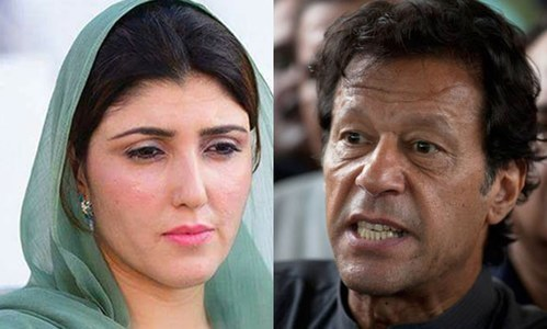Imran Khan's reference seeking to deseat MNA Ayesha Gulalai rejected by ECP
