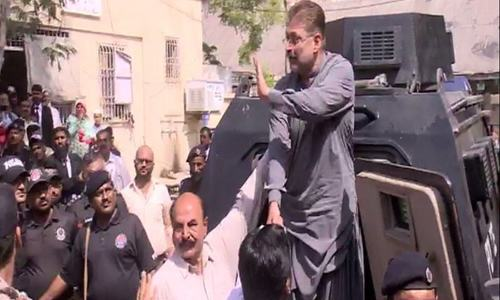 PPP's Sharjeel Memon appears before accountability court
