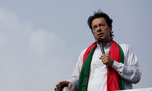Imran unveils party manifesto for general elections