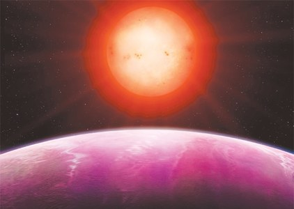 Monster planet found orbiting dwarf star