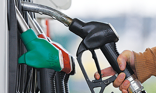Prices of all petroleum products increased