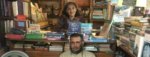 How an exhibit at the Karachi Biennale stirred a storm in a pre-partition bookshop