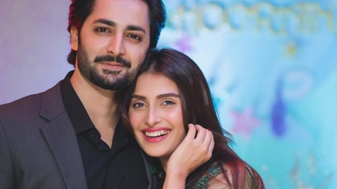 Danish Taimoor and Ayeza Khan welcome baby boy