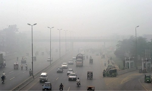 Tackling Lahore's smog will have to include the curbing of elite consumption patterns