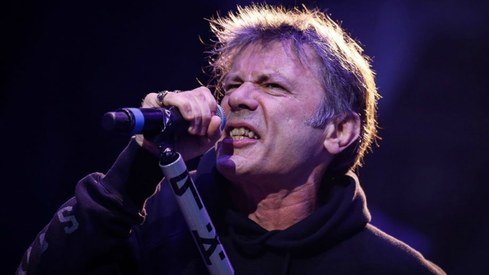 Iron Maiden frontman writes about bullying, cancer and flying in new autobiography