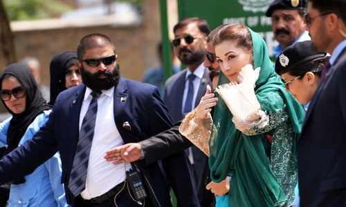 Court moved against Maryam for anti-judges remarks
