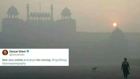 10 tweets that show how bad the smog is in Lahore