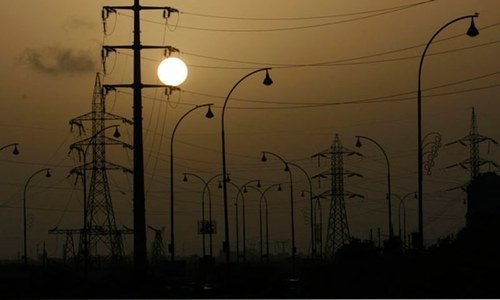 Chinese firm all but stops work on power transmission line