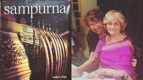 Classical music legend Saffiah Beyg's book Sampurna launched
