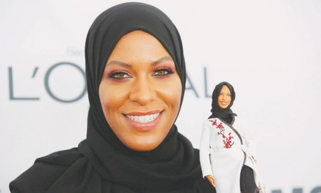 Olympian fencer Ibtihaj inspires Barbie's first hijab-wearing doll