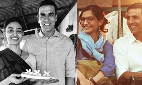 Akshay Kumar introduces Radhika Apte, Sonam Kapoor as 'reason' and 'strength' behind Padman