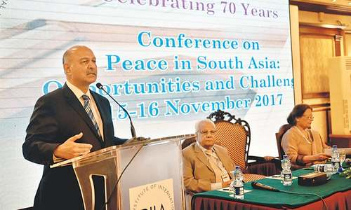 Past few years termed a 'period of missed opportunities' for Pakistan-India ties