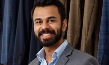 Abbas Haider, 28, co-founder at Aspetto.─Photo Courtesy: Forbes
