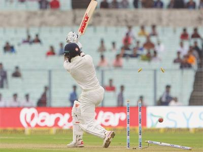 Lakmal rocks India with triple strikes on curtailed first day
