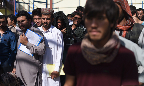 370,000 Afghan refugees registered in four months: report