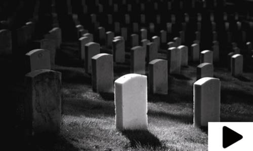 قبرستان خوف کی علامت بن گیا