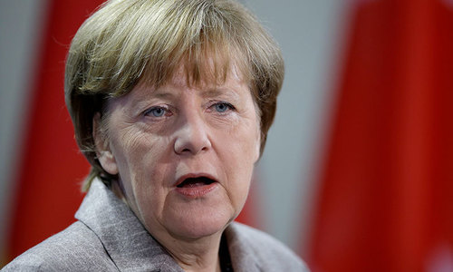 Merkel's fate in balance as German coalition talks drag on