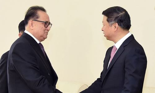 Chinese, N.Korean envoys talk up ties despite nuclear tensions