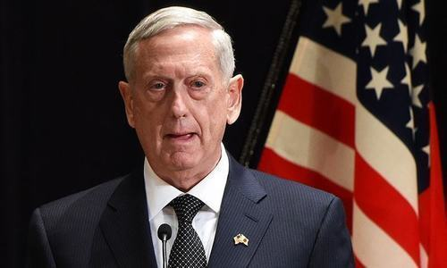 US Defence Secr­e­tary James Mattis and Gen Joseph Dunford to visit Pakistan soon