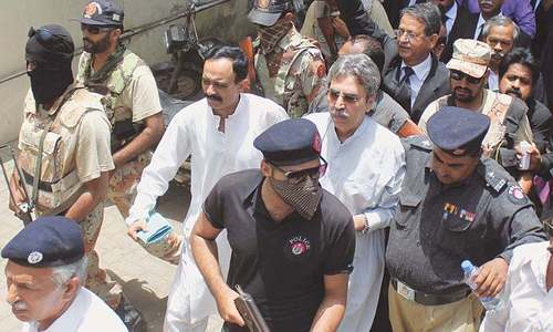 MQM-P leader Amir Khan indicted for sheltering terrorists at Nine Zero