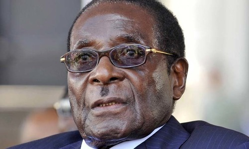 Mugabe ousted as Zimbabwe's ruling party chief