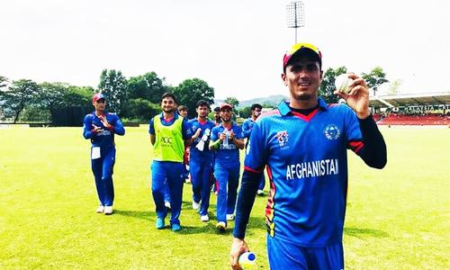 Afghanistan beat Pakistan by 185 runs to claim Under-19 Asia Cup