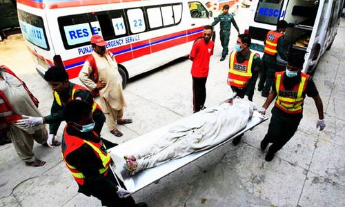 6 killed as car plunges into ravine near Murree