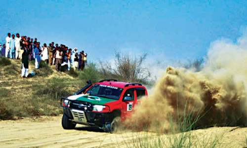 Nadir Magsi wins Thal jeep rally