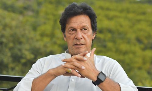 Imran terms Abbasi 'puppet PM'