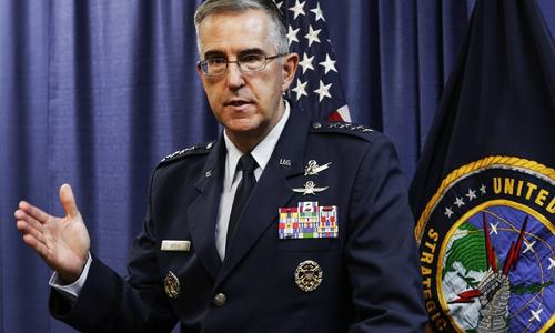 US nuclear general says he will resist 'illegal' Trump strike order